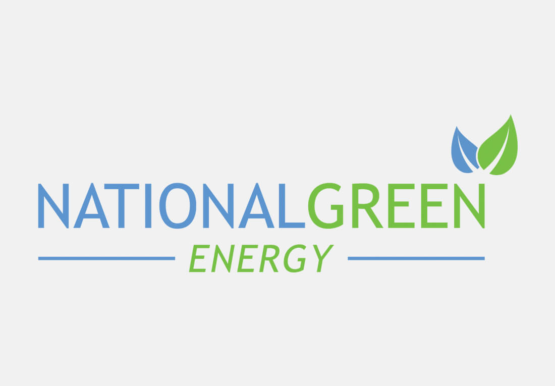Branding Logo Design National Green Energy