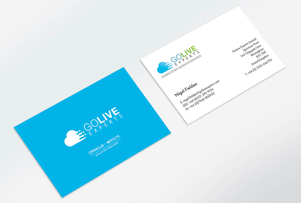 Business Card Print Go Live Experts